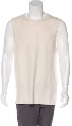 Maison Margiela Rib Knit Sleeveless Sweater