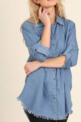 Umgee USA Button Up Tunic