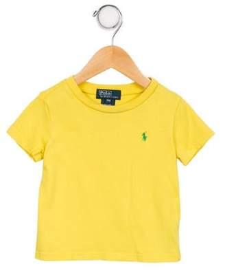 Polo Ralph Lauren Boys' Short Sleeve Crew Neck Shirt