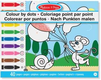 Melissa & Doug Colour By Dots Activity Book