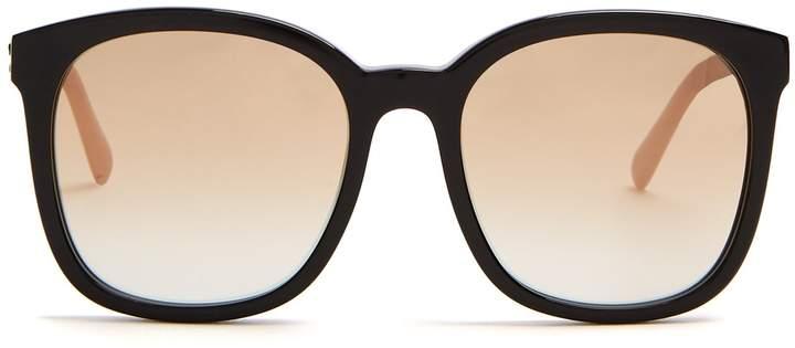 Stella McCartney Falabella square-frame acetate sunglasses
