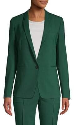 BOSS Janufa One-Button Stretch Jacket