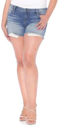 SLINK Jeans Exposed Pockets Cutoff Denim Shorts