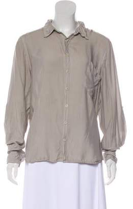 Cp Shades Long-Sleeve Button-Up Top