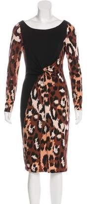 Diane von Furstenberg Masanika Wool Dress