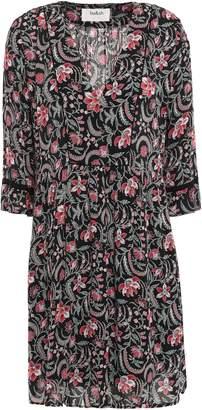 BA&SH Haley Floral-print Voile Mini Dress