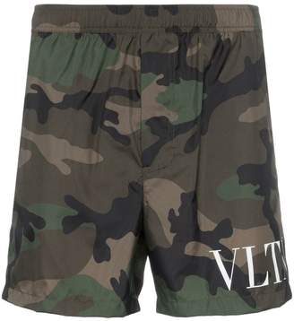 Valentino VLTN camo print swim shorts