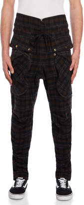 Faith Connexion Drawstring Plaid Pants