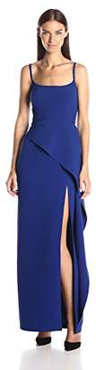 BCBGMAXAZRIA Azria Women's Steluh Gown with Side Slit, 0