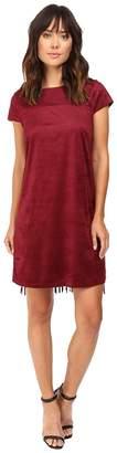 Kensie Drapey Faux Suede Dress KS9K7131 Women's Dress