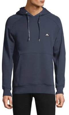J. Lindeberg Throw Hood Ring Loop Sweatshirt