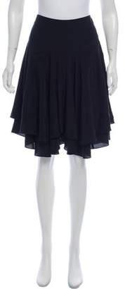 Rebecca Taylor Silk Knee-Length Skirt w/ Tags