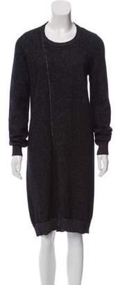 MM6 MAISON MARGIELA Wool Midi Dress