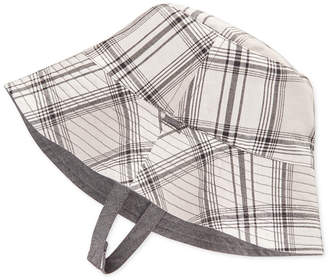 First Impressions Reversible Chambray Bucket Hat, Baby Boys, Created for Macy's