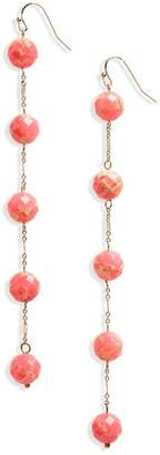 Panacea Linear Stone Earrings