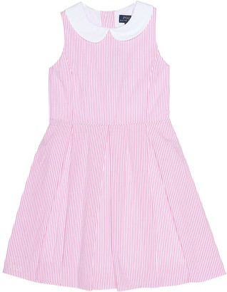 Polo Ralph Lauren Baja striped cotton dress