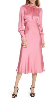 Veronica Beard Elsie Silk Midi Dress