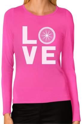 IDEA Tstars Bicycle Riders Gift Love Cycling - Bike Lover Women Long Sleeve T-Shirt