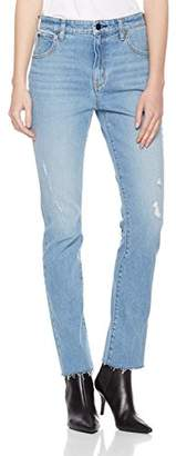 HALE Women's Nadine High Rise Straight Leg Jean
