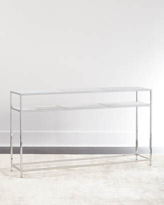 Regina-Andrew Design Regina Andrew Design Cici Etched Marble Console