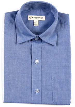 Appaman Standard Solid Long-Sleeve Shirt, Size 2-10