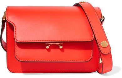 Marni - Trunk Leather Shoulder Bag - Red