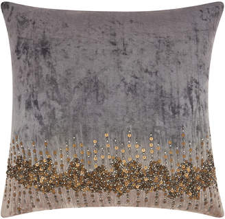 Nourison Mina Victory Couture Luster Beaded Stargaze Throw Pillow