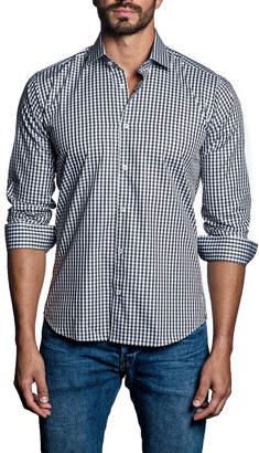 Jared Lang Gingham Check Sport Shirt