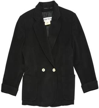 Cerruti 1881 Black Wool Jacket for Women