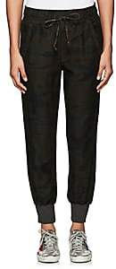 NSF Women's Neko Cotton Micro-Piqué Pants-Dark Grey