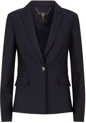 Ted Baker Polka Dot Anabeli Suit Jacket