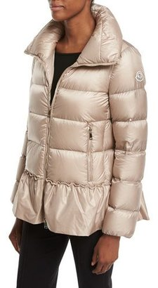 Moncler Anet Quilted Puffer Jacket $1,150 thestylecure.com