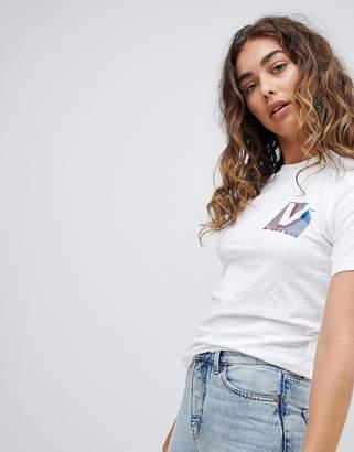 Vans 80S Back Print T-Shirt In White
