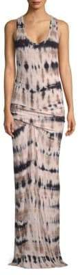 Young Fabulous & Broke Hampton Abstract-Print Maxi Dress