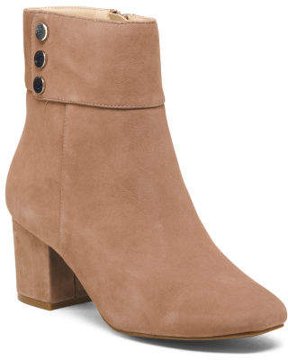 Kid Suede Booties
