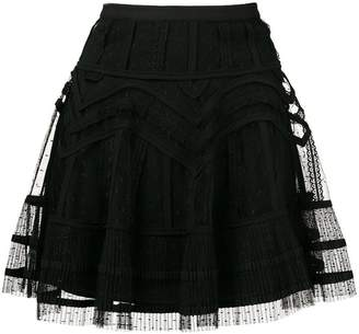 RED Valentino short tulle skirt