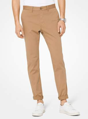 Michael Kors Slim-Fit Cotton-Twill Chinos