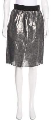 Dolce & Gabbana Silk-Blend Skirt