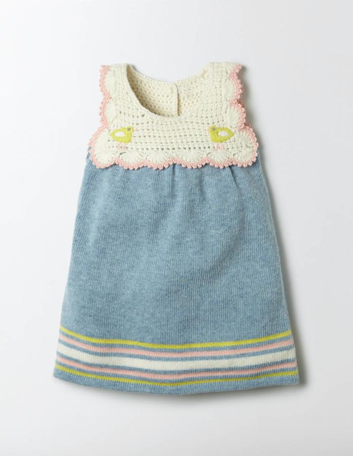 BodenCrochet Knit Dress