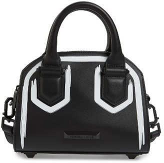 Kendall + Kylie Holly Mini Leather Satchel - Black $295 thestylecure.com