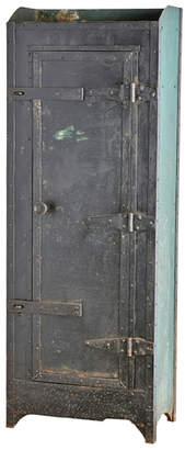 Rejuvenation Riveted & Rusted Industrial Locker
