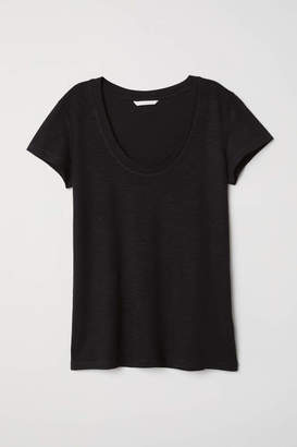 H&M Modal-blend T-shirt - White - Women
