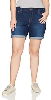 Levi's Women's Plus Size New Shorts