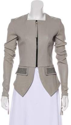 Thomas Wylde Studded Leather Jacket