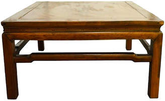 One Kings Lane Vintage Antique Yumu Wood Coffee Table