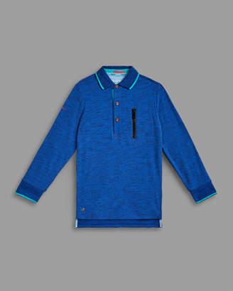 Ted Baker BAGHEE Cotton pocket polo shirt