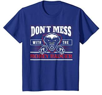 IDEA Don't Mess With The Honey Badger Angry Shirt - Fun Gift