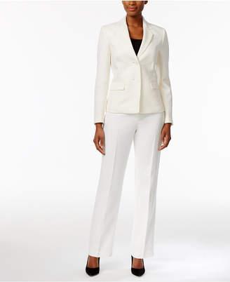 Le Suit Tonal Tweed Pantsuit $200 thestylecure.com