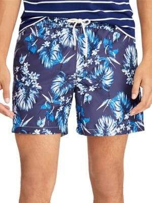 Polo Ralph Lauren Traveler Tropical Bloom Swim Trunks