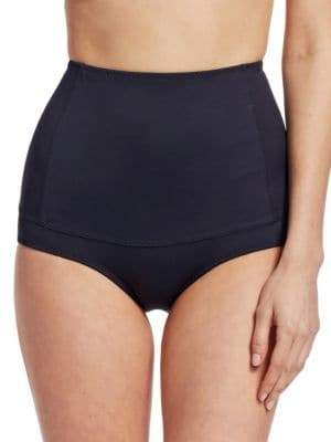Malia Mills Retro-Style High-Waist Swimsuit Bottom